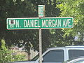 North Daniel Morgan Avenue sign in Spartanburg, SC IMG 4841.JPG