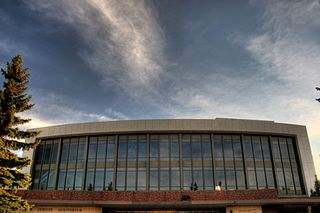 Northern Alberta Jubilee Auditorium performing arts centre in Edmonton, Alberta