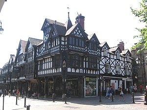 3–31 Northgate Street, Chester - Image: Northgate Street 29 31