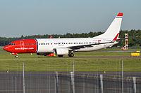 LN-NHF - B738 - Norwegian