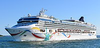 Norwegian Dawn Leaving Boston Harbor (cropped).jpg