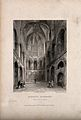 Norwich Cathedral, Norwich, Norfolk; interior. Etching by B. Wellcome V0014042ER.jpg
