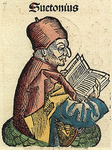 Nuremberg chronicles f 111r 1.png (Illustration de Suétone issue de La Chronique de Nuremberg.)