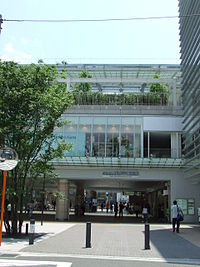 駅北口(2007年6月8日撮影)