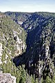 Oak Creek Canyon seen from the overlook vista (4107512766).jpg