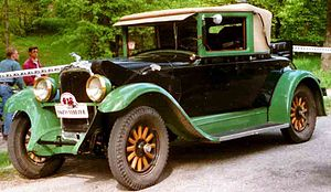 Oakland Motor Car Company - 1928 Oakland Sport Cabriolet