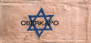 Kapo (concentration camp) - The armband of an oberkapo