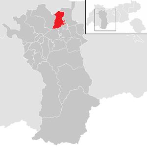 Obsteig - Image: Obsteig im Bezirk IM