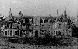 Ochancourt - Castle, on a postcard.