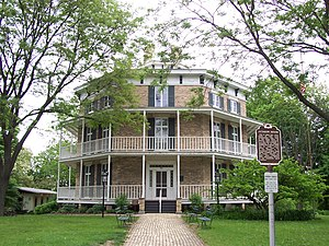 Octagon House (Watertown, Wisconsin) - Image: Octagon House