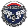 """Odznaka honorowa """"Zasłużony dla Kolejnictwa"""".jpg"""
