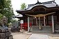 Oimatsu Shrine haiden in Sonezaki, Tosu.jpg