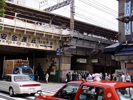 Station Okachimachi in 2005