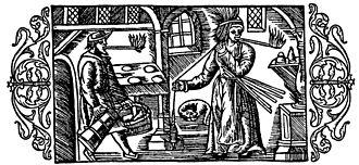 Fatwood - Using fatwood lighters while working in Olaus Magnus' Historia de gentibus septentrionalibus 1555