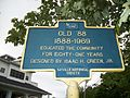 Old '88 Historical Marker; Sayville, New York.JPG