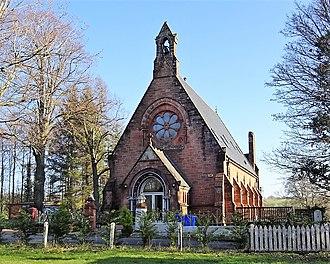 Minishant - The old Lady Coats Memorial Church.