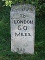 Old Milestone - geograph.org.uk - 1484826.jpg