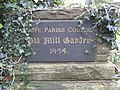 Old Mill Garden plaque - geograph.org.uk - 1721498.jpg
