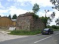 Old railway bridge abutment - geograph.org.uk - 487437.jpg