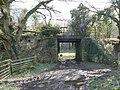 Old railway bridge nr Usk - geograph.org.uk - 745855.jpg