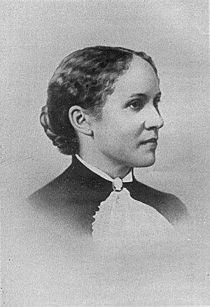 Olivia A. Davidson - A photograph of Olivia Davidson Washington, published in 1901.