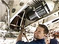 "Ollie ""Les"" Harvey installing a refurbished engine fire-bottle onto XH558.JPG"
