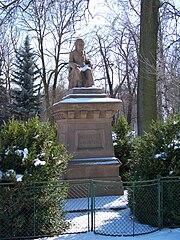 Statue of Josef Jungmann in Olovnice