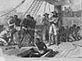 On Board a Slave-Ship, engraving by Swain c. 1835.jpg
