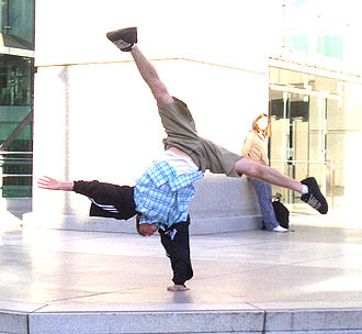 Handstand - One-armed handstand with straddle split