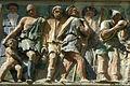 Opere di misericordia 07, Filippo di Lorenzo Paladini, dar da bere agli assetati, 1586, dett 01.jpg