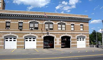 Orange, New Jersey - Central fire station
