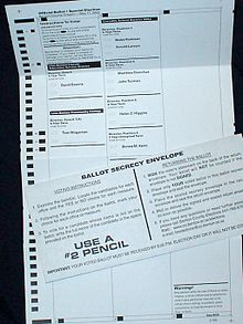 vote by mail in oregon wikipedia