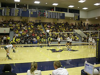 Michigan Wolverines women's volleyball - Michigan vs. Oregon, 2013