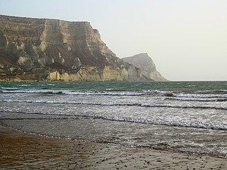 Arabian Sea - Ormara beach, west side of the city