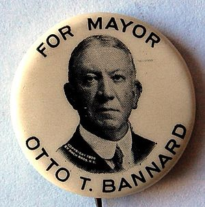 Otto T. Bannard - Image: Otto T. Bannard button