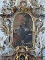 Ottobeuren Basilika Ottobeuren altar of st scholastica 02.JPG