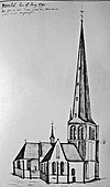 oude toren eindhoven 1791