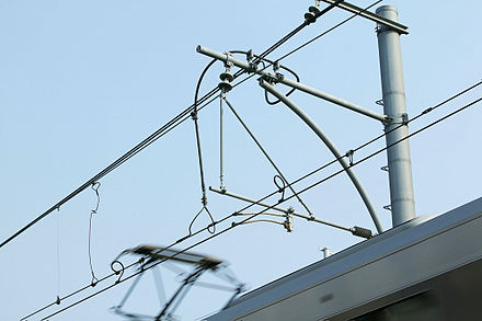 Compound Catenary Equipment Of JR West