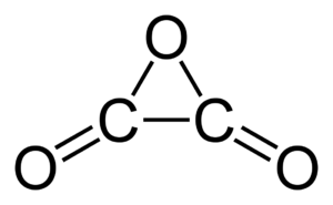 Oxalic anhydride - Image: Oxalic anhydride 2D