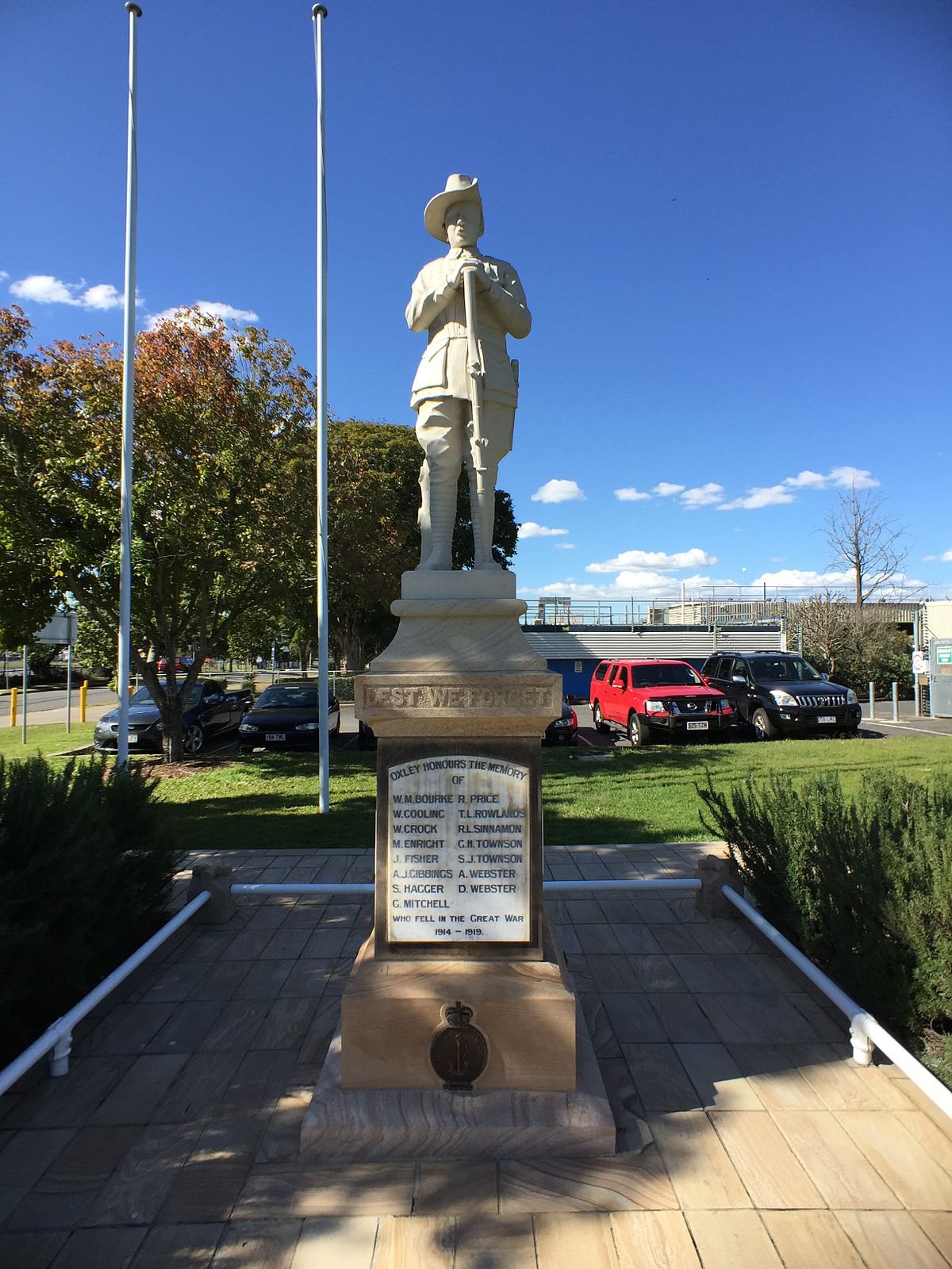 Memorial To Arthur Memorial: Oxley War Memorial