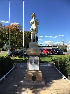 Oxley War Memorial heritage-listed memorial