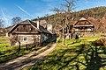 Pörtschach Winklern Brockweg alte Schmiede und vulgo Ostermann 16112015 9028.jpg