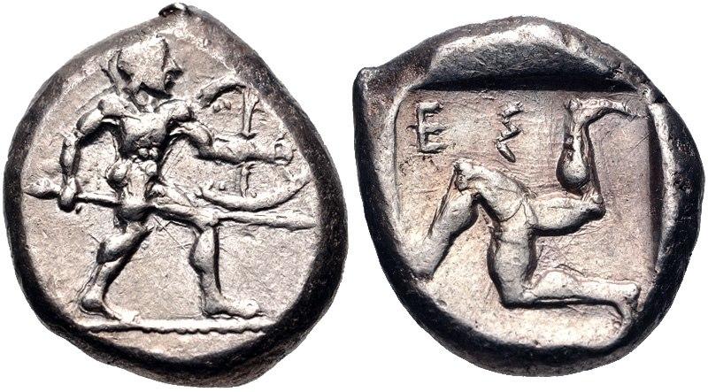 PAMPHYLIA, Aspendos. Circa 465-430 BC