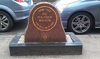 Perry Barr - Memorial to PC Malcolm Walker