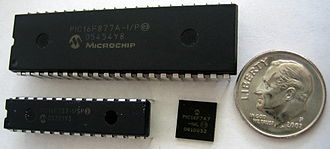 PIC microcontroller - PIC microcontrollers in DIP and QFN packages