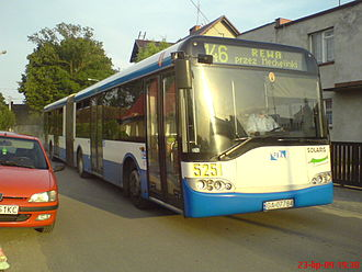 Solaris Urbino 18 - Solaris Urbino 18 First Generation in PKA Gdynia livery.