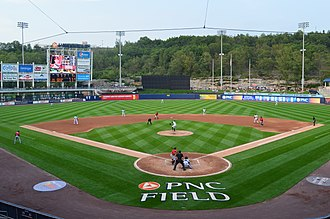 PNC Field - Image: PNC Field home plate
