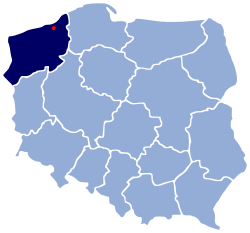 POL Koszalin map.svg