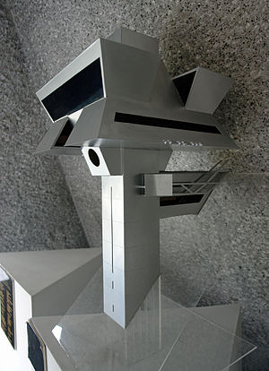 Agustín Hernández Navarro - Model of 'Praxis', the Architect's Studio in Mexico City.