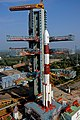 PSLV C50 at second launch pad side view.jpg
